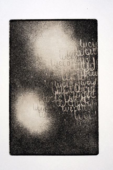 Lucid, etching